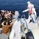 Marmaris'te 15 düzensiz göçmen kurtarıldı