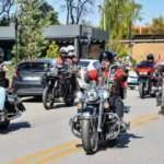 Motosiklet tutkunlarından gazilere büyük jest
