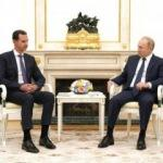 Putin, Esad'ı Kremlin'de ağırladı