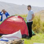 Şırnak'ın 2 bin 625 rakımlı yaylasında huzur için kamp yapıyorlar