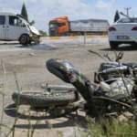 Uşak'ta minibüsle çarpışan motosikletin 11 yaşındaki sürücüsü hayatını kaybetti