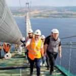 Çanakkale Köprüsü'nde sona doğru! Yüz yıllardan bu yana süren hayalin yansıması
