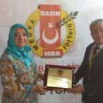 Ahmet Yesevi aşığı Dr. Fatma Sönmez'e Kırıkkale'de büyük ödül