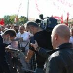 Ankara'da aşı karşıtları mitingde hiçbir kural tanımadı