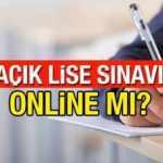 AÖL kayıt yenileme takvimi! AÖL 1. dönem sınavları online mı düzenlenecek?