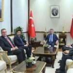 Cumhurbaşkanı Yardımcısı Oktay, Karadağ Başbakan Yardımcısı Abazoviç'i kabul etti