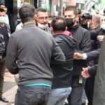 Davutoğlu'nun parti binası açılışında arbede