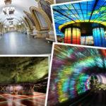 Dünyanın en renkli 10 metro istasyonu