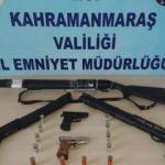 Kahramanmaraş'ta çok sayıda silah ele geçirildi