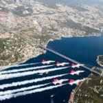 Milli Savunma Bakanlığı paylaştı! Türkiye ve Azerbaycan uçakları böyle selamladı!
