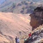 Muş Ovası'na bakan 'kaya adam' turizme kazandırılacak