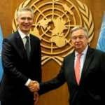 NATO ve BM Genel Sekreterleri New York'ta Afganistan için buluştu