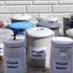 Tokat'ta 750 litre kaçak içki ele geçirildi