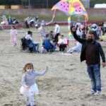 Trabzon'da Yalıncak Sahili açıldı, çocuklar doya doya eğlendi