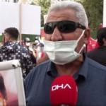 Van'da HDP önündeki anne: Evladımı nasıl kandırdıklarının hesabını versinler