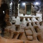 Yer altı şehrinin gizemli mezarları
