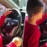 7 yaşındaki oğluna otomobil kullandıran babaya kesilen ceza belli oldu!