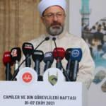 Ali Erbaş: İtibar suikastı yapmaya çalışıyorlar!