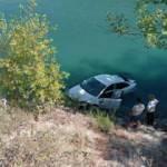 Antalya'da otomobil ırmağa uçtu!