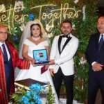 Bakan Çavuşoğlu, Manisa'da nikah şahidi oldu