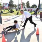 Bursa'da unutulmaya yüz tutmuş sokak oyunları çocuklarla buluştu