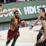 Galatasaray Nef, 2 uzatmalı maçın sonunda kaybetti!