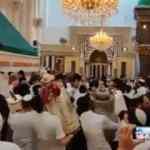 İsrailli Yahudilerden çirkin saygısızlık! Peygamber kabrini oyun pistine çevirdiler!