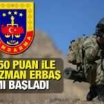 Jandarma en az ilkokul mezunu 5 bin uzman erbaş alımı! Başvuru için son 2 gün