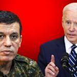 Teröristbaşı Mazlum Kobani'den itiraf: Biden bize söz verdi