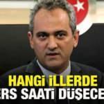 Ders saatleri azaltılacak mı? MEB Bakanı Özer açıkladı! Tüm okullarda ders saati düşürülmeyecek...