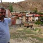 Sivas'ta kayalar tarafından tehdit edilen köy böyle korunuyor