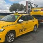 Taksicilere denetim arttı! Polis araçları bağladı