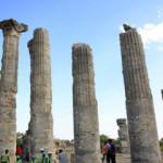 Uzuncaburç Antik Kenti tarihe ışık tutuyor