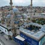 Yeni Cami'de restorasyon çalışmalarının yüzde 85'i tamamlandı