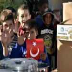Yürekleri ısıtan görüntü! Mehmetçikten Suriye'de yardım eli