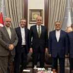 AK Parti'li Kurtulmuş, İran Dışişleri Bakan Yardımcısı Kani ile görüştü