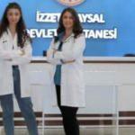 Doktor anne ve kızı aynı hastanede koronavirüse karşı birlikte mücadele ediyor
