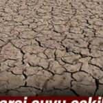 Baraj suyu çekildi, zemin tarım arazisine döndü