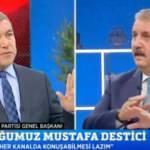 Başak Demirtaş sonrası yayına çıkan Mustafa Destici, Küçükkaya'yı terletti
