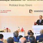 Demirören Medya Mesleki ve Teknik Anadolu Lisesi için protokol imzalandı