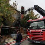 Esenyurt Fatih Sanayi Sitesinde yangın çıktı