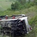Hindistan'da otobüs kazası: 12 ölü