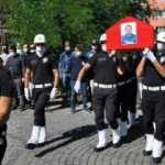 Kalp krizi sonucu hayatını kaybeden polis memuru için tören düzenlendi