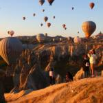 Kapadokya eylülde de turistlerin gözdesi!
