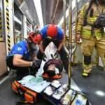 Metroda yangın tatbikatı yapıldı
