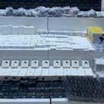 Samsun'da 2 bin 113 adet kaçak telefon aksesuarları ele geçirildi