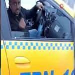 Sarı kabus kamerada! Gitmek istemeyen taksici müşterisini dövdü