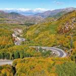 Tablo gibi görüntüler: Sivas'a sonbahar çok yakıştı!