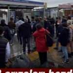 Tramvay Hattı'nda yaşanan elektrik arızası İstanbulluyu mağdur etti