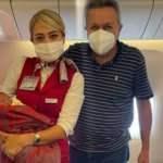 Uçakta doğum gerçekleştirmişti, dünya basını Türk cerrahı konuşuyor